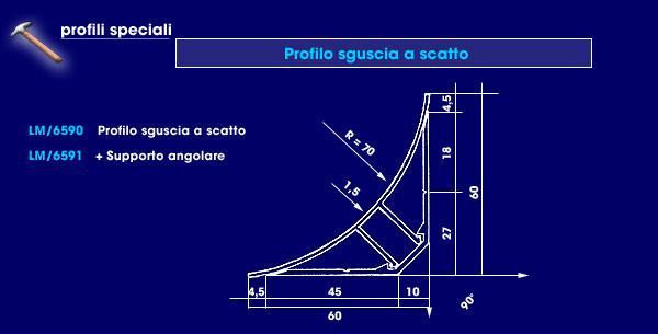 S >> LA MILANO s.r.l. -- Profilati speciali d'alluminio